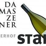 Stahl-Hintergrund-Logo