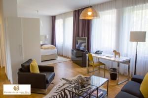 möblierte Appartements Zimmer boardinghouse